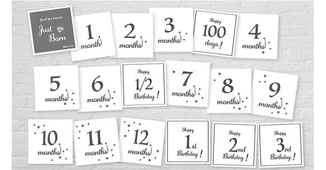 月齢カード_プレゼント